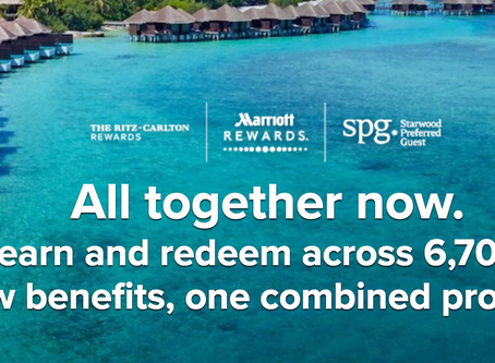 Ritz-Carlton, Starwood now fully integrated as one Marriott Rewards