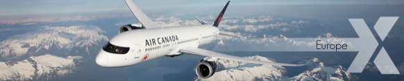 Air Canada Europe Sale - visit in August