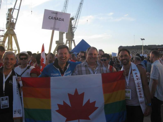 Mr. Gay World at worldOutgames - Mr. Gay Canada