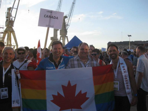 Mr. Gay World at worldOutgames - Mr. Gay Canada