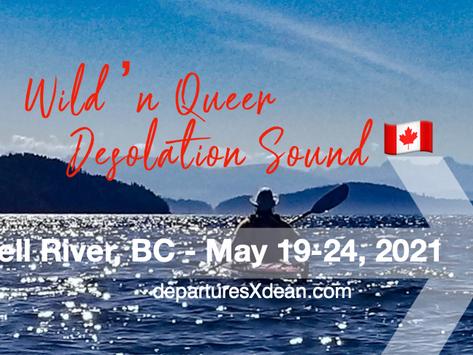 Wild N Queer 6-Day Spring Desolation Sound Kayak Expedition