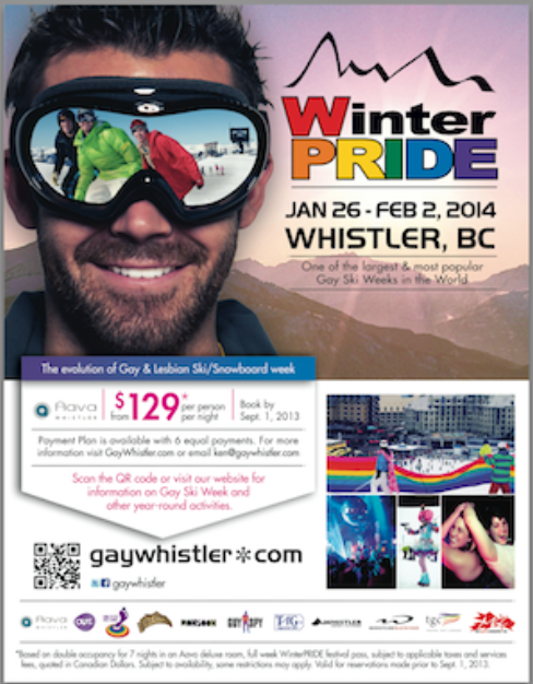 WinterPRIDE 2014 Whistler Pride and Ski Festival