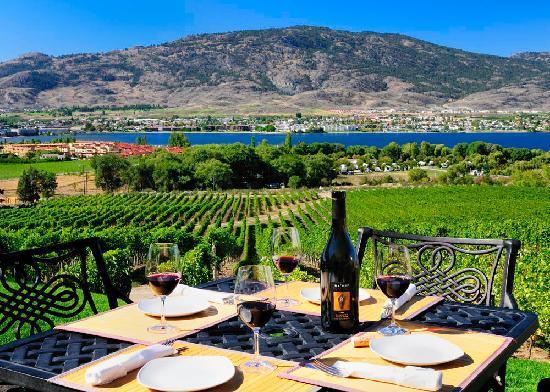 Nk'mip wine paired dinner Luxury Wine Tour departuresXdean