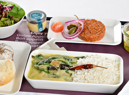 Swiss Airlines - the Vegetarian's choice