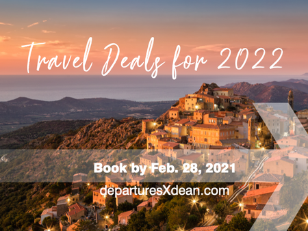 New Year Travel Deals for 2022