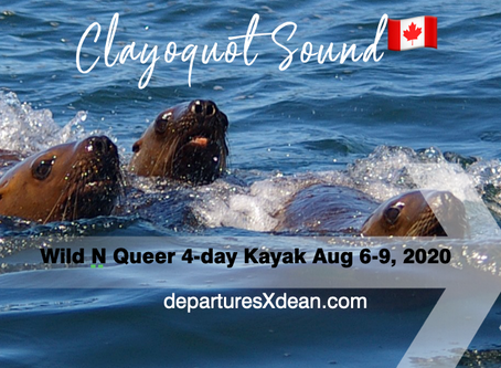 Wild N Queer 4-Day August Clayoquot Sound Kayak Expedition