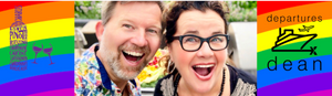 The #gaynamicduo of Dean Nelson + Barb Snelgrove at Whistler Cornucopia