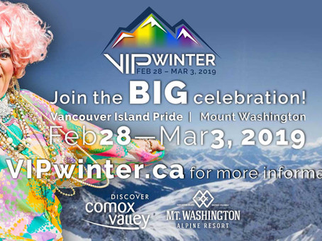 Mount Washington  welcomes Smudge + Megastar at the first annual - Vancouver Island Pride