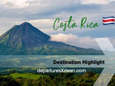 Costa Rica - a destination highlight