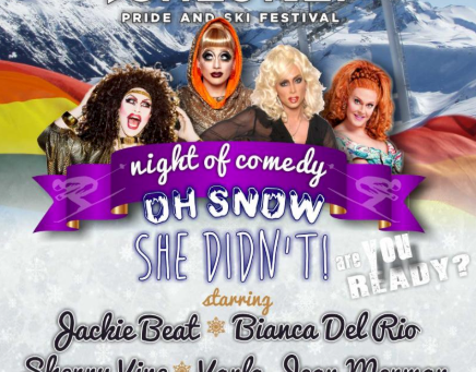 Comedy Queens Set to Conquer Whistler Pride and Ski Festival
