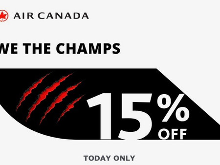Historic NBA Win - Air Canada Worldwide One Day Sale