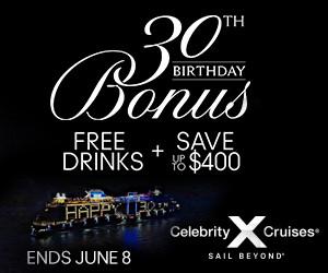 Celebrity Cruises celebrates 30th Anniversary