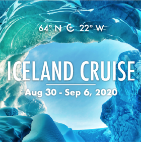 LGBTQ Luxury Yacht Sailing Iceland Aug 30-Sept 6, 2020