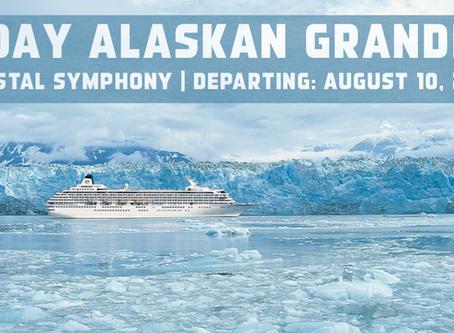 10-Day Alaskan Grandeur on the luxurious Crystal Symphony