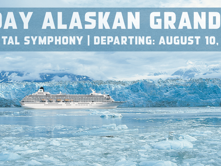 10-Day Alaskan Grandeur on the luxurious Crystal Symphony
