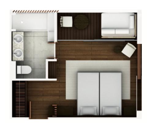 Aqua Mekong Balcony Suite - Reserve Now
