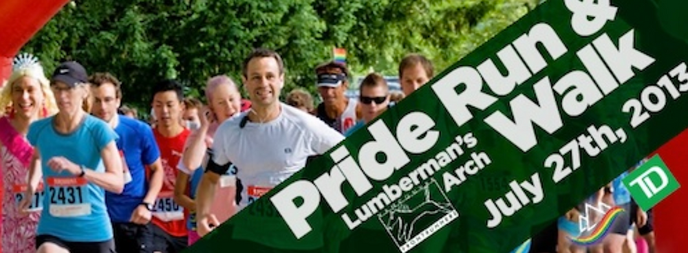 Vancouver Frontrunners Pride Run and Walk 2013