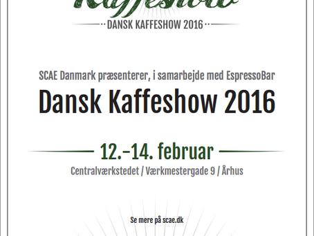 Dansk Kaffeshow poster