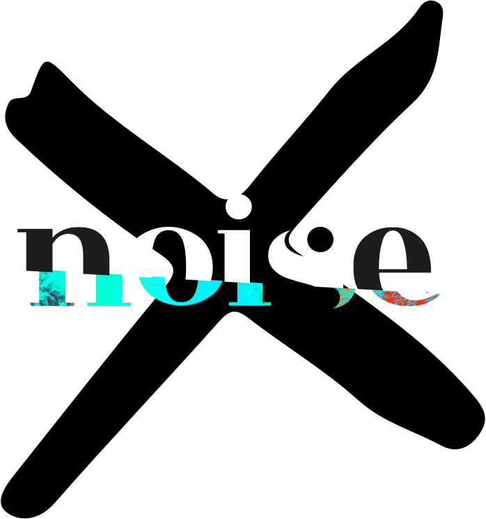 "alt=""Noise logo with black x"""