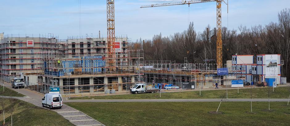 Baufortschritt 24.02.2020