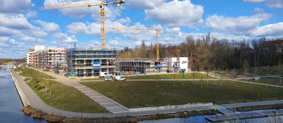 Baufortschritt 31.03.2020