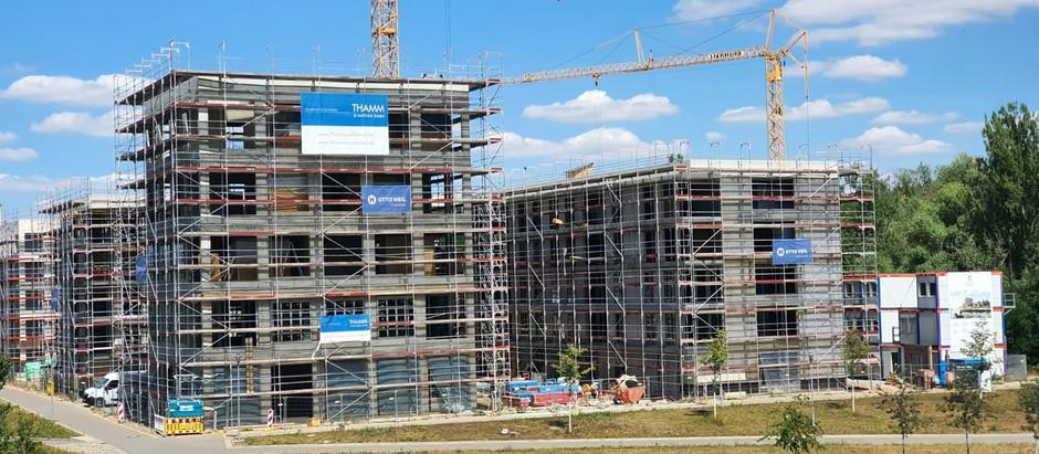 Baufortschritt 13.07.2020