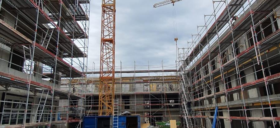 Baufortschritt 28.04.2020