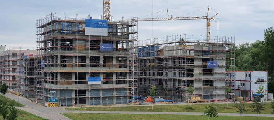 Baufortschritt 09.06.2020