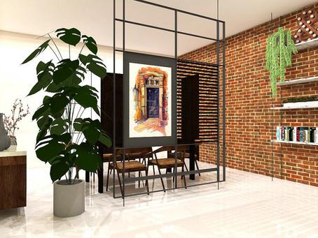 Brick wall vibes!