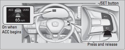 Honda Adaptive Cruise Control