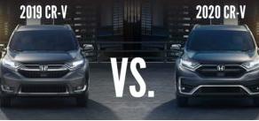 2019 CR-V vs 2020 CR-V