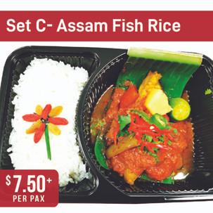 Asian Specialty Set C- Assam Fish Rice