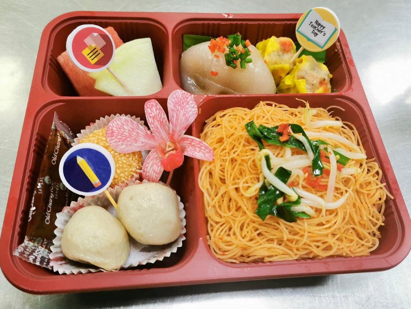 Teacher's Day Snacks and Bento Sets 2020