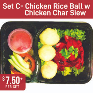 Premium Local Bento Set C- Hainanese Chicken