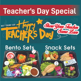 Teacher's Day Special Menu