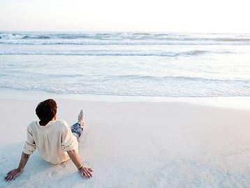 Вглядываясь в море