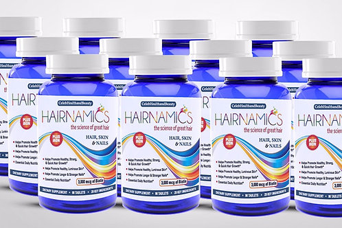 HAIRNAMICS 12 MONTH SUPPLY