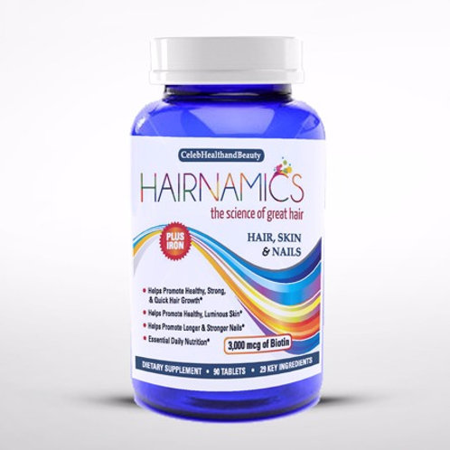 Hairnamics 1 Month Supply of Hair Vitamins