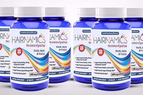HAIRNAMICS 6 MONTH SUPPLY