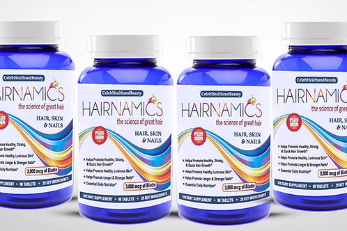 HAIRNAMICS 4 MONTH SUPPLY