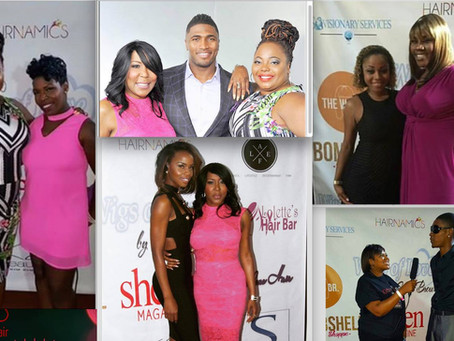 Hairnamics Supports Celebrity Comedian Cocoa Brown's Campaign For Cancer Survivors!