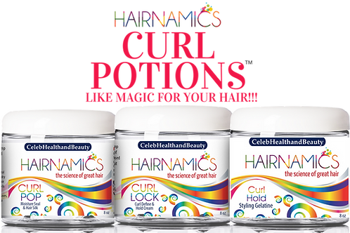 CURL POTIONS (3-Step Curl System)