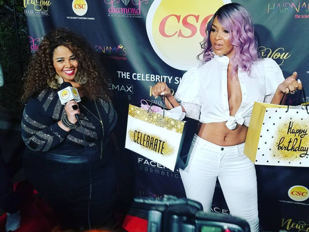 HAIRNAMICS Feat'd. On Celebrity Shopping Channel & Gifts Celebrities At LisaRaye's Birth