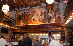 George Dureau triptych over the Bar
