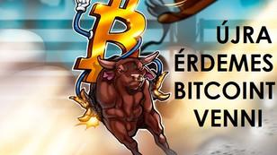 Most újra érdemes bitcoint venni