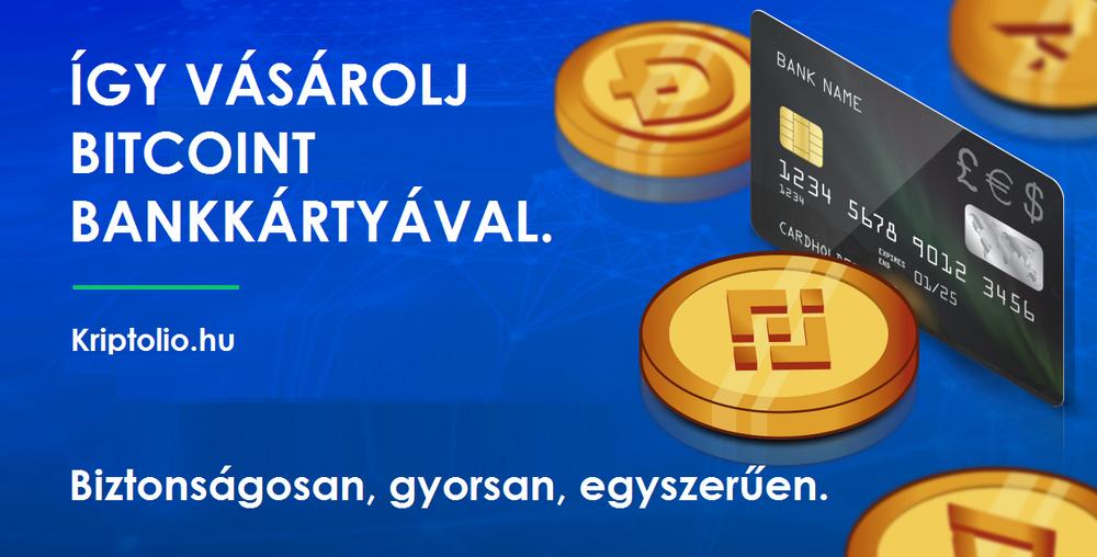 vásároljon bitcoint bankkártyával
