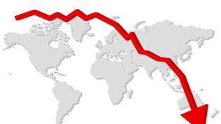 Ekkora gazdasági visszaesés várható a világon