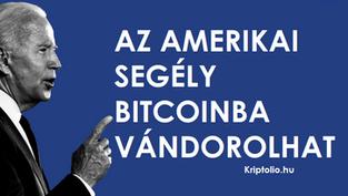 Az amerikai segély bitcoinba vándorolhat