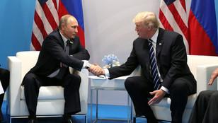 A zuhanó olajárakról tárgyalt Trump és Putyin