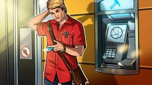 A bankóriás 5.000 kriptobányász ATM-et vesz